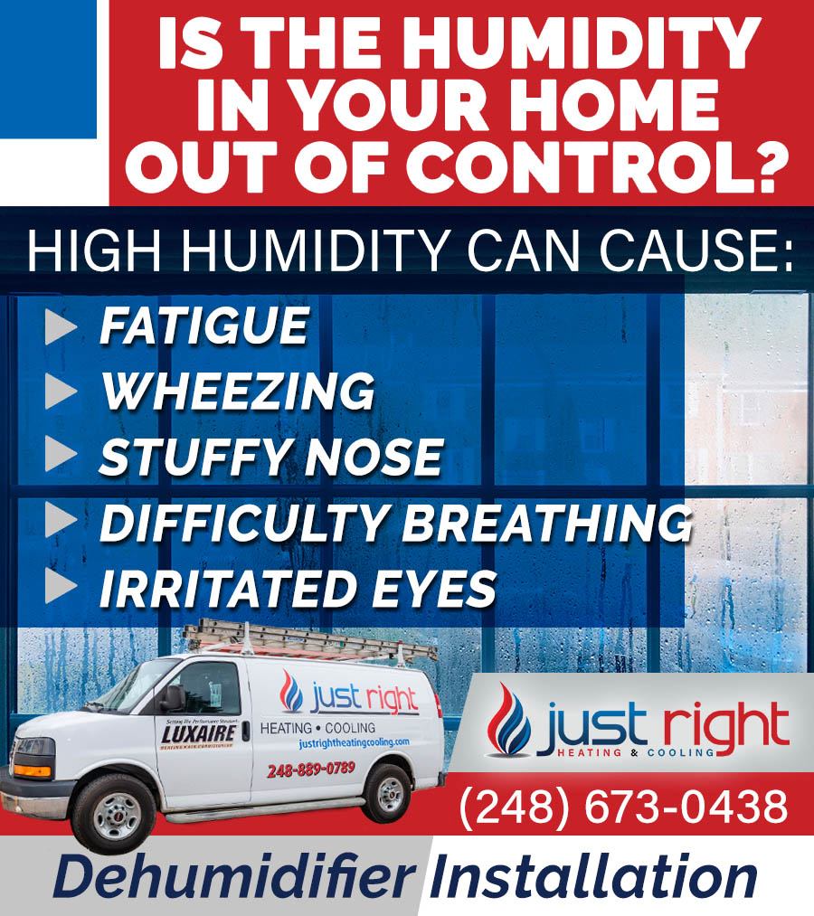 Humidity problems in a home can hurt your health and increase allergy symptoms