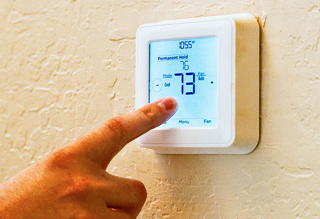 Temperature set to 73 degrees in Waterford Township home