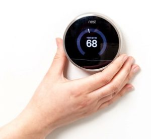 Setting thermostat to 68 degrees
